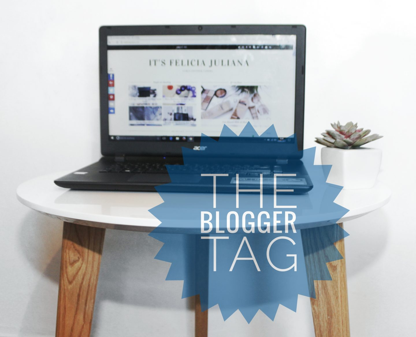 The Blogger Tag.