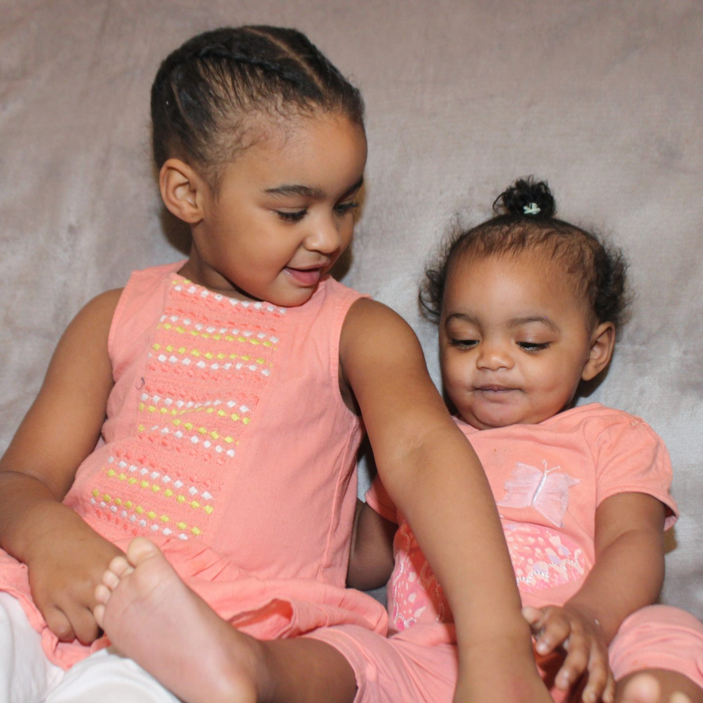Amaia-Isabella & Sienna-Rae My Daughters #itsfeliciajuliana